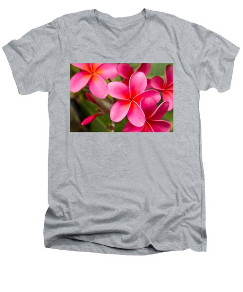 Pretty Hot In Pink Men's V-Neck T-Shirt