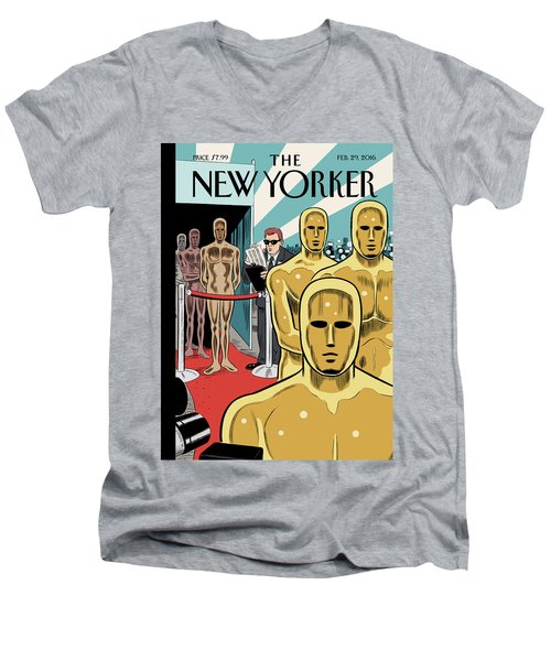 Privileged Characters Men's V-Neck T-Shirt