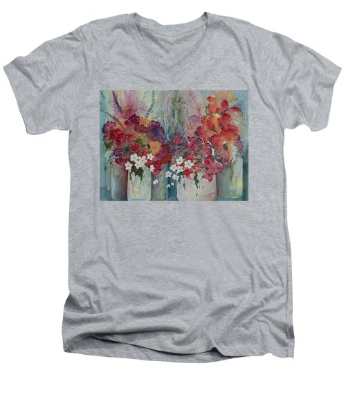 Profusion Men's V-Neck T-Shirt by Lee Beuther