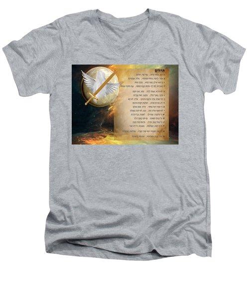 Psalm 91 Men's V-Neck T-Shirt