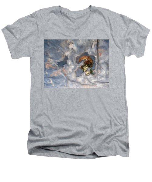 Puddle Of Sunsphere Men's V-Neck T-Shirt