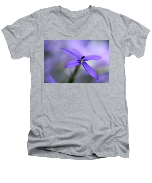 Purple Dreams Men's V-Neck T-Shirt