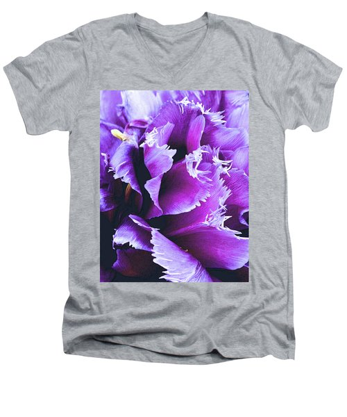Purple Perfection Men's V-Neck T-Shirt
