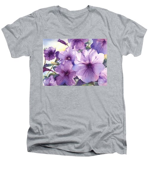 Purple Profusion Men's V-Neck T-Shirt