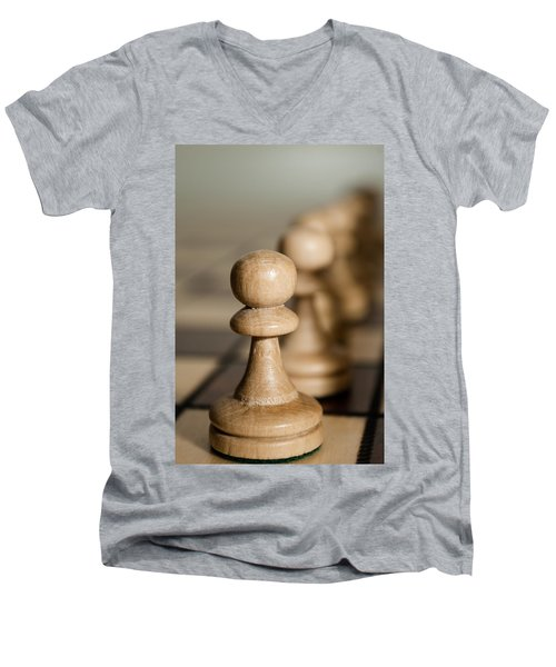 Pawns Men's V-Neck T-Shirt