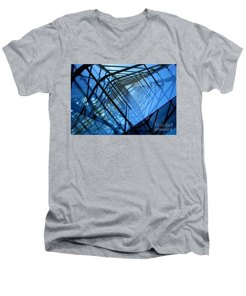 Quadrajunction Men's V-Neck T-Shirt
