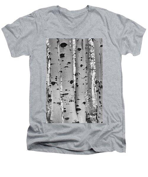 Quaking Aspen Zion National Park Men's V-Neck T-Shirt