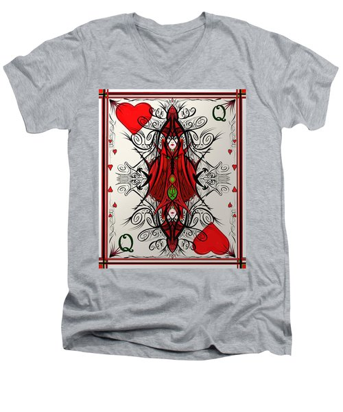 Queen Of Arts Men's V-Neck T-Shirt