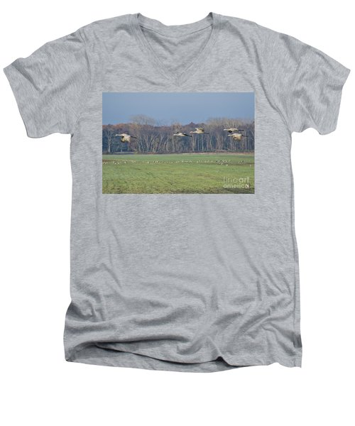 Quidditch Men's V-Neck T-Shirt
