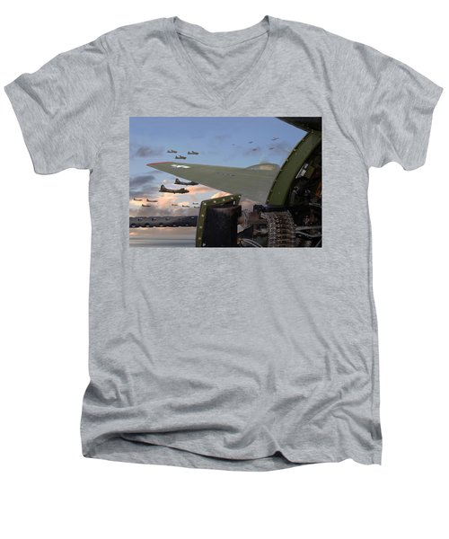 Quiet Before The Storm Men's V-Neck T-Shirt