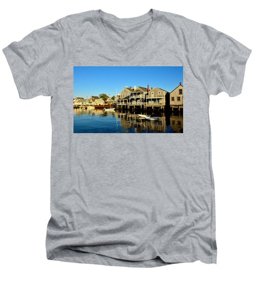 Quiet Harbor Men's V-Neck T-Shirt