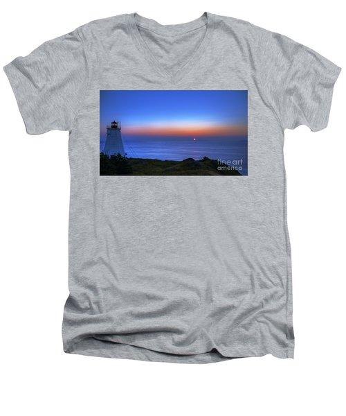 Quiet Morning.. Men's V-Neck T-Shirt