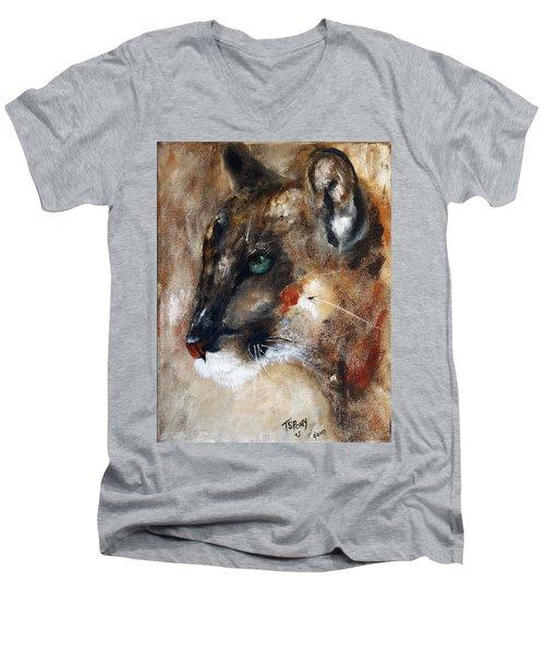 Quiet Thunder Seeker Men's V-Neck T-Shirt