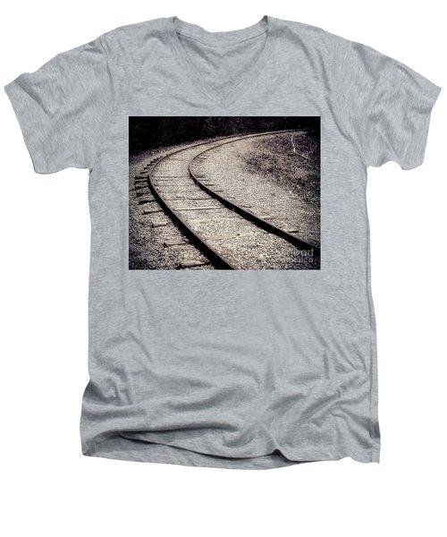 Rails Men's V-Neck T-Shirt by Liz Masoner