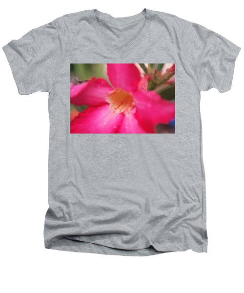 Men's V-Neck T-Shirt featuring the photograph Rain Season by Miguel Winterpacht