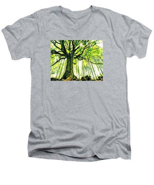 Raised By The Light Men's V-Neck T-Shirt