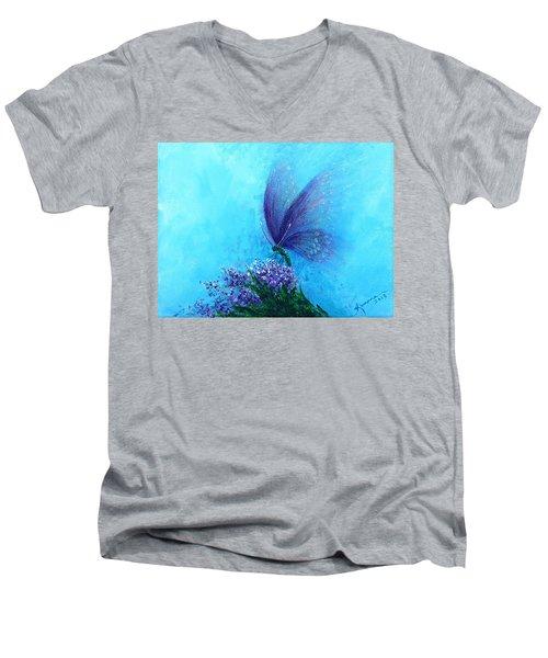 Raised In Glory 2 Men's V-Neck T-Shirt