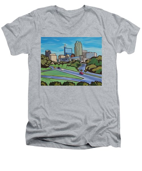 Raleigh Skyline 2 Men's V-Neck T-Shirt
