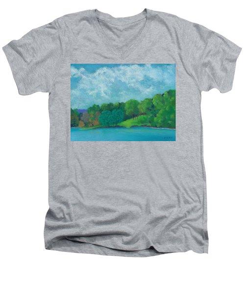 Raquel's Morning Walk Men's V-Neck T-Shirt