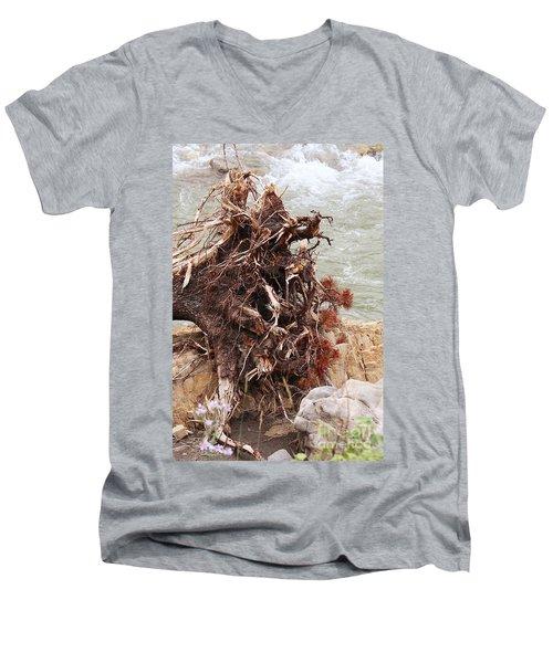 Ravaged Roots Men's V-Neck T-Shirt
