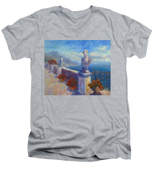 Ravello View Men's V-Neck T-Shirt