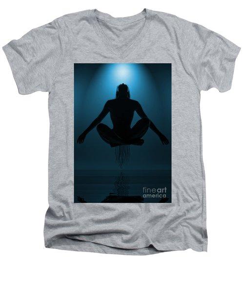 Reaching Nirvana.. Men's V-Neck T-Shirt
