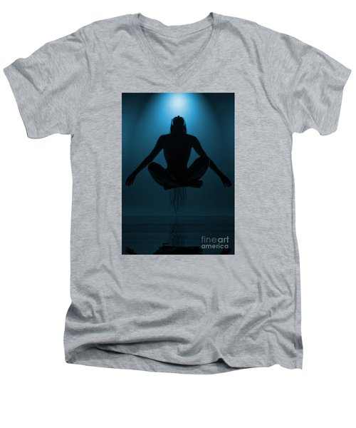 Reaching Nirvana.. Men's V-Neck T-Shirt