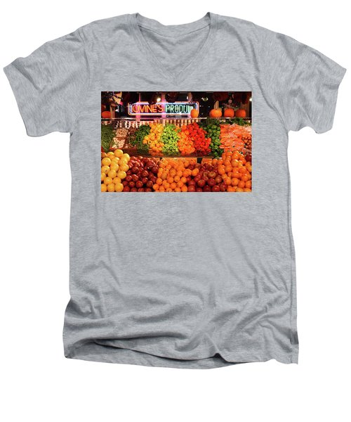 Reading Terminal Market Men's V-Neck T-Shirt