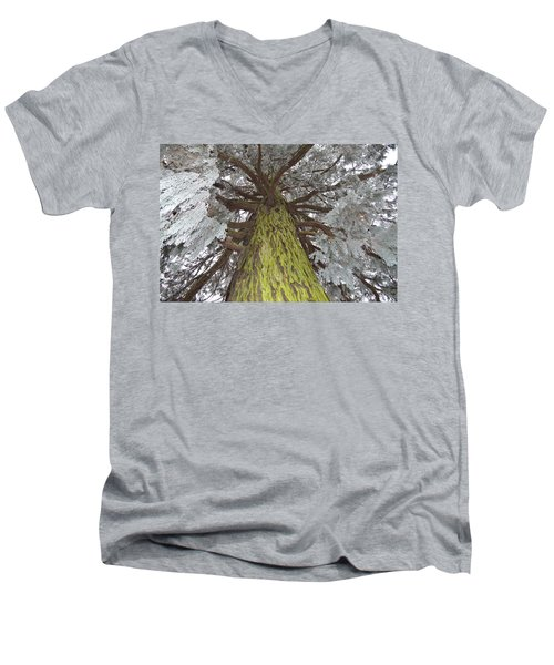 Men's V-Neck T-Shirt featuring the photograph Ready For Christmas by Felicia Tica