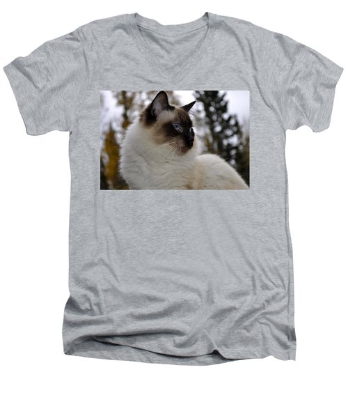 Ready For My Closeup Men's V-Neck T-Shirt