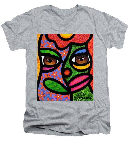 Ready To Blossom Men's V-Neck T-Shirt