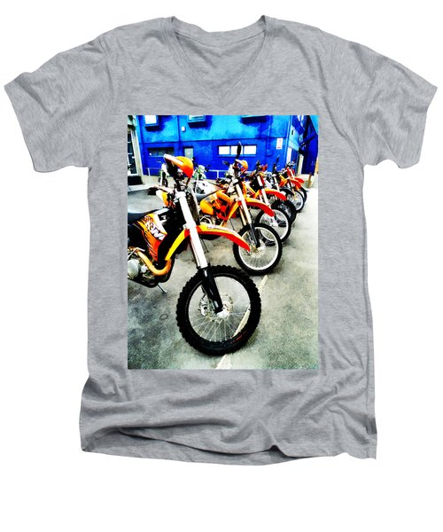 Ready To Ride Men's V-Neck T-Shirt