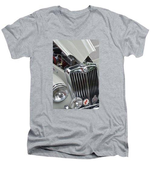 Real M G Men's V-Neck T-Shirt by John Schneider