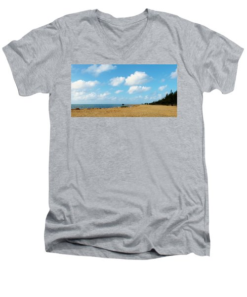 Reclamation 8 Men's V-Neck T-Shirt by Amar Sheow