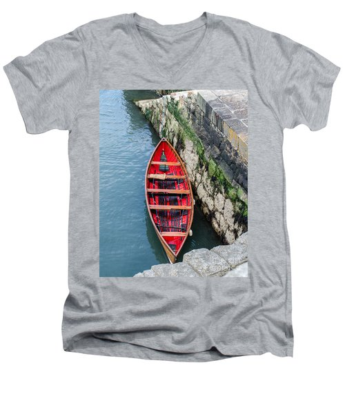 Red Canoe Men's V-Neck T-Shirt