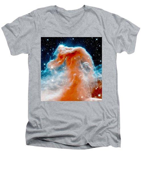 Red Cloud Walker Men's V-Neck T-Shirt