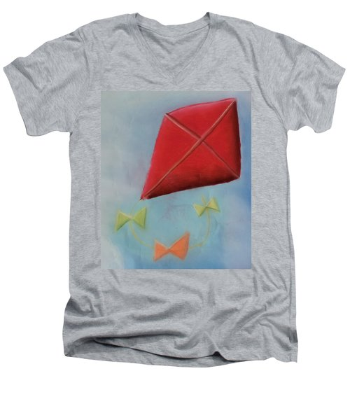 Red Kite Men's V-Neck T-Shirt