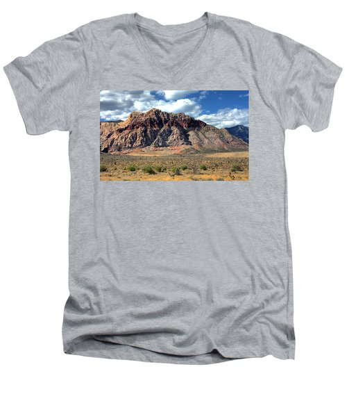 Red Rock Men's V-Neck T-Shirt
