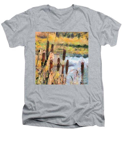 Reedmace Men's V-Neck T-Shirt