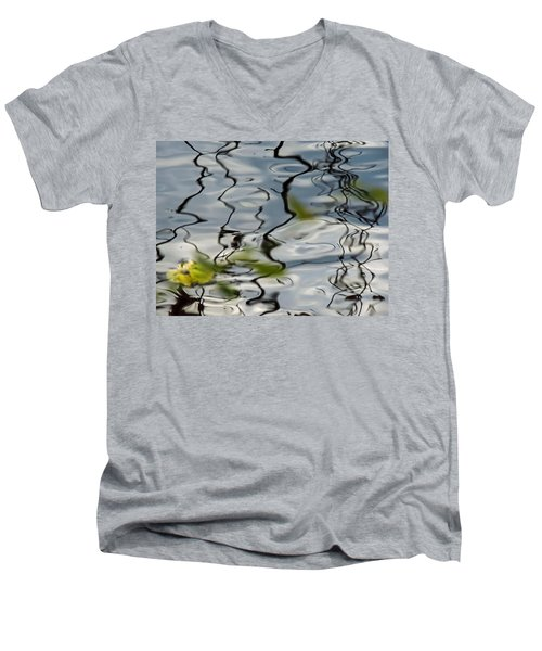 Reflected Men's V-Neck T-Shirt
