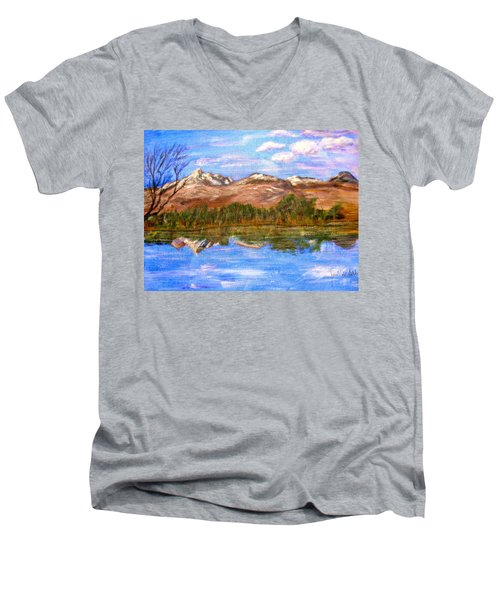 Reflection Men's V-Neck T-Shirt