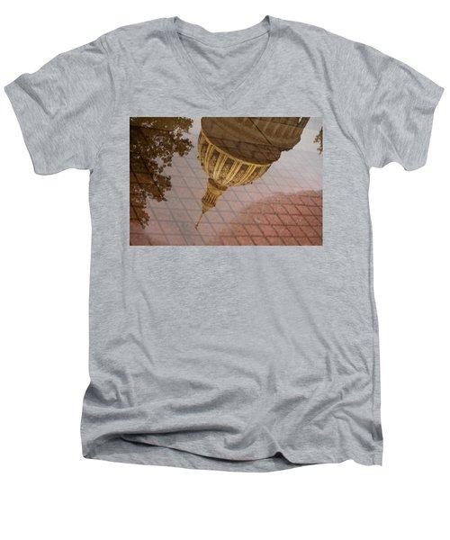 reflection of WV Men's V-Neck T-Shirt