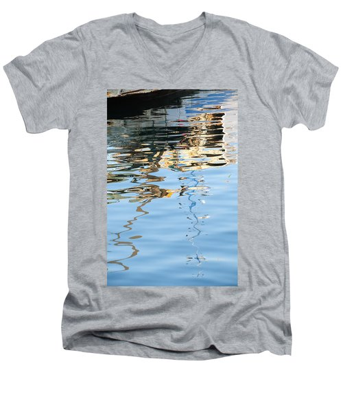 Reflections - White Men's V-Neck T-Shirt