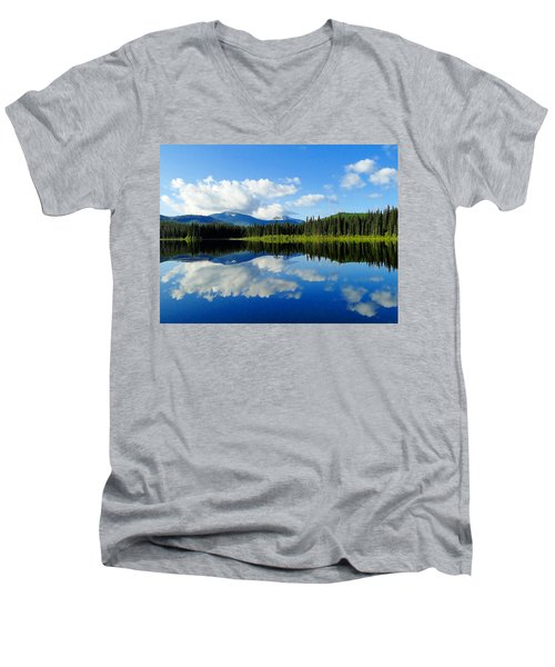 Reflections Of Nature Men's V-Neck T-Shirt