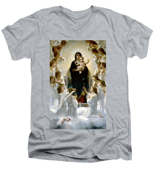 Regina Angelorum Men's V-Neck T-Shirt