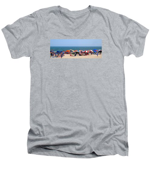 Rehobath Beach Delaware Men's V-Neck T-Shirt