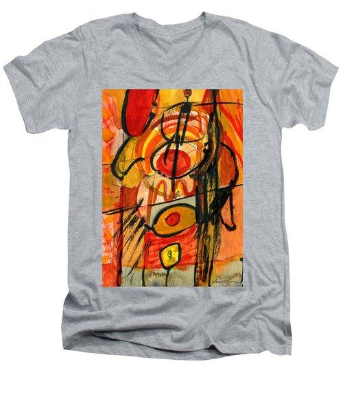 Relativity Men's V-Neck T-Shirt by Stephen Lucas