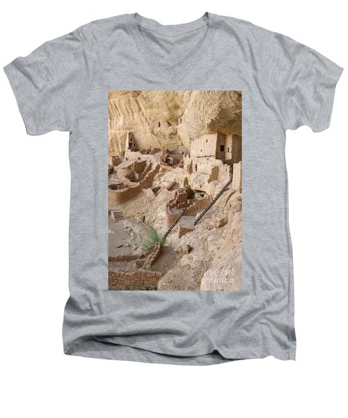 Remnants Of Civilization Men's V-Neck T-Shirt