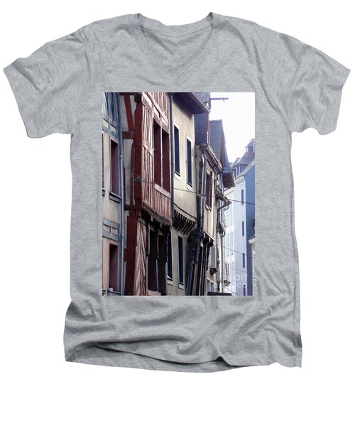 Rennes France 2 Men's V-Neck T-Shirt