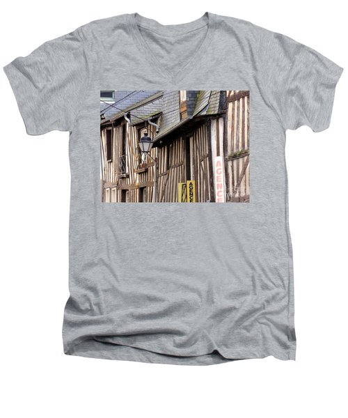 Rennes France Men's V-Neck T-Shirt